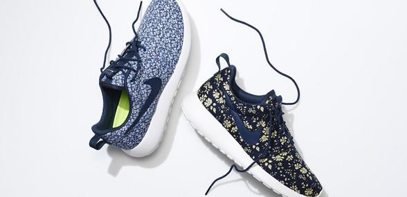 premium selection 2265b 76f82 Design dine egne Nike sko i blomstret liberty-print