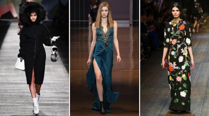 Fendi Versace Dolce & Gabbana