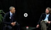Video: Obama står distancen over for Zach Galifianikis