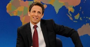 Seth Meyers tæt på at erstatte Jimmy Fallon som vært til Golden Globes