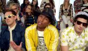 Højdepunkter fra SNL's sæsonfinale: Pharrell med The Lonely Island, St. Vincent og parodi på Jay Z/Solange