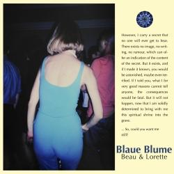 Blaue Blume - Beau & Lorette