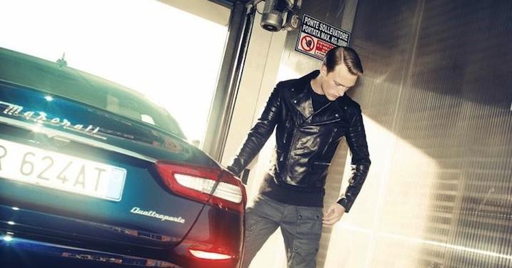 Danske Victor Nylander i serie for Maserati x Bergdorf Goodman