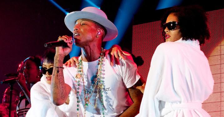 Pharrell – hev hits op af hatten