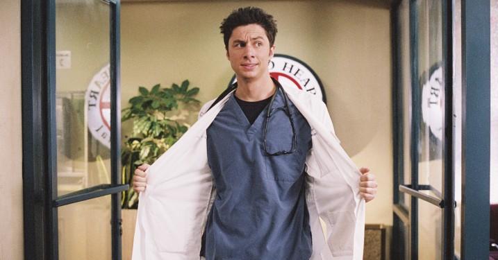 Zach Braff vil lave tv-serie for første gang siden 'Scrubs'