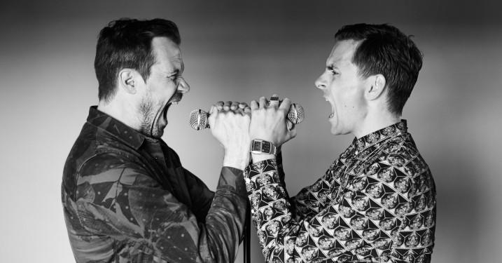 De Eneste To annoncerer deres nye splittede album 'Dobbeltliv'