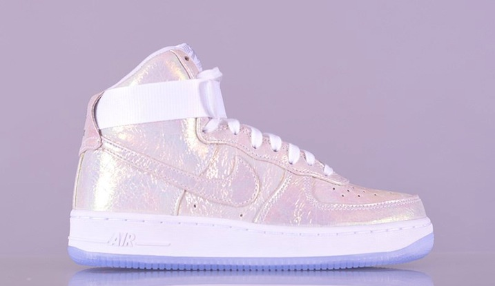 Nike Air Force 1 High Iridescent Pearl Collection