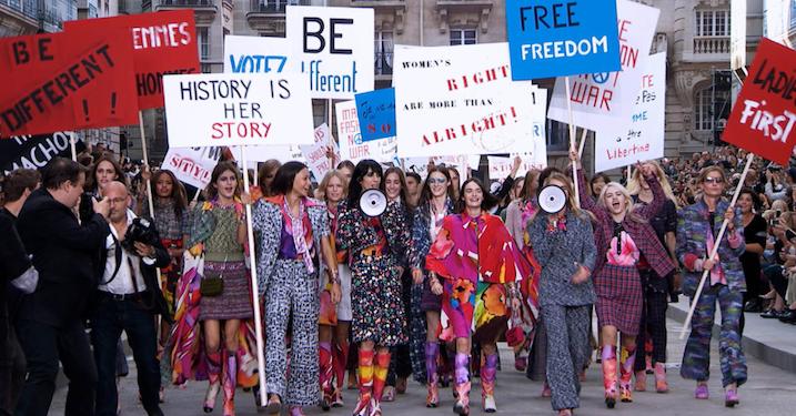Feminismen og oprøret i Chanels modeshow er fordummende