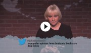 Video: Onde tweets oplæst af Lena Dunham, Chris Pratt m.fl. hos Jimmy Kimmel