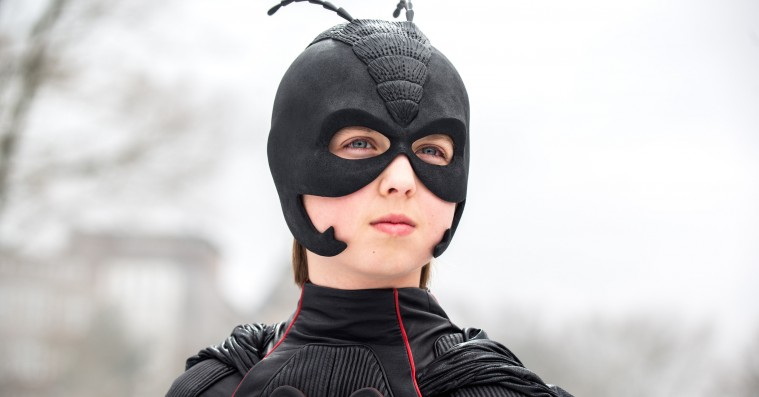 Paprika Steen som superskurk i ny 'Antboy'-film