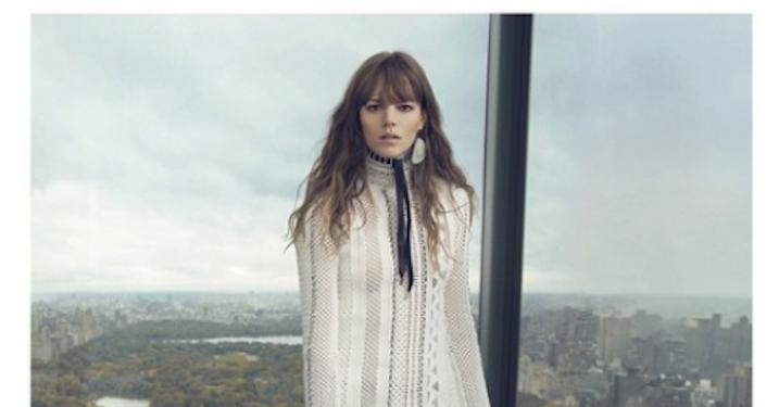 Nicolas Ghesquière teaser ny Louis Vuitton-kampagne med Freja Beha