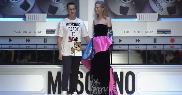 Buy or Die: Moschinos 'Ready to Bear'-kollektion direkte fra catwalken