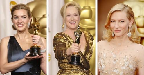 Vi måler: De 10 største nulevende, kvindelige Oscar-skuespillere