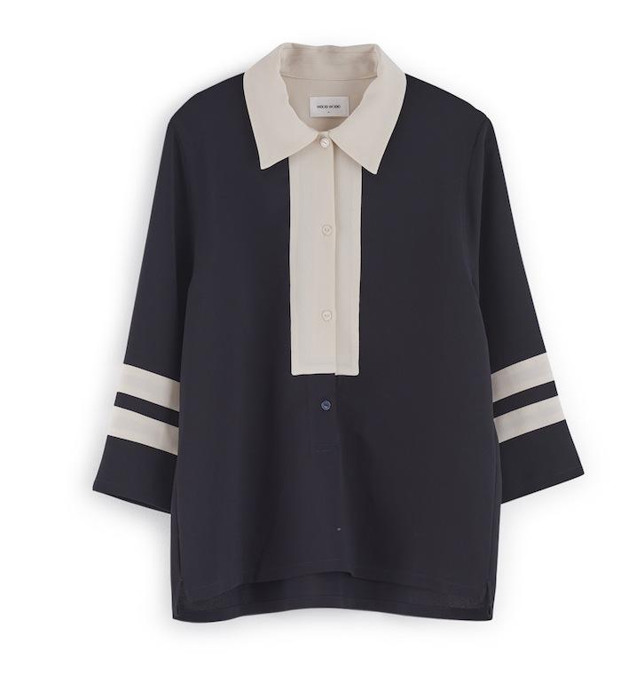 Caden shirt_Dark navy_1400kr
