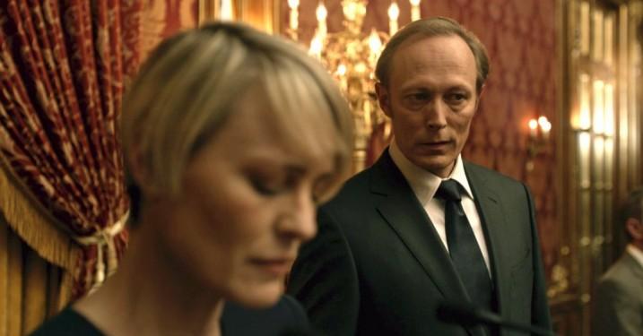 Lars Mikkelsen om 'House of Cards'-rolle: »Det føltes som skjult kamera«