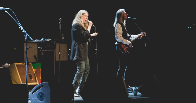 Patti Smith besøger DR Koncerthuset – koncert og digtoplæsning