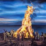 De Underjordiskes debutalbum er et forrygende tilgængeligt take på syrerocken - Ind i flammerne