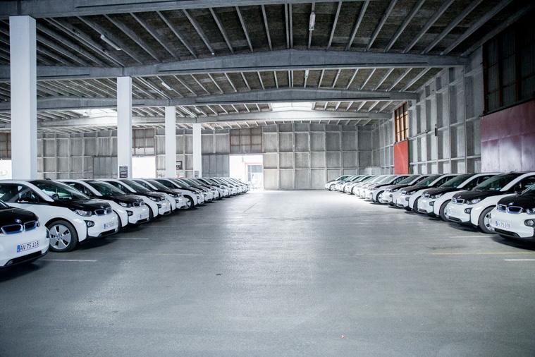 BMWi står klar til at servicere byens borgere