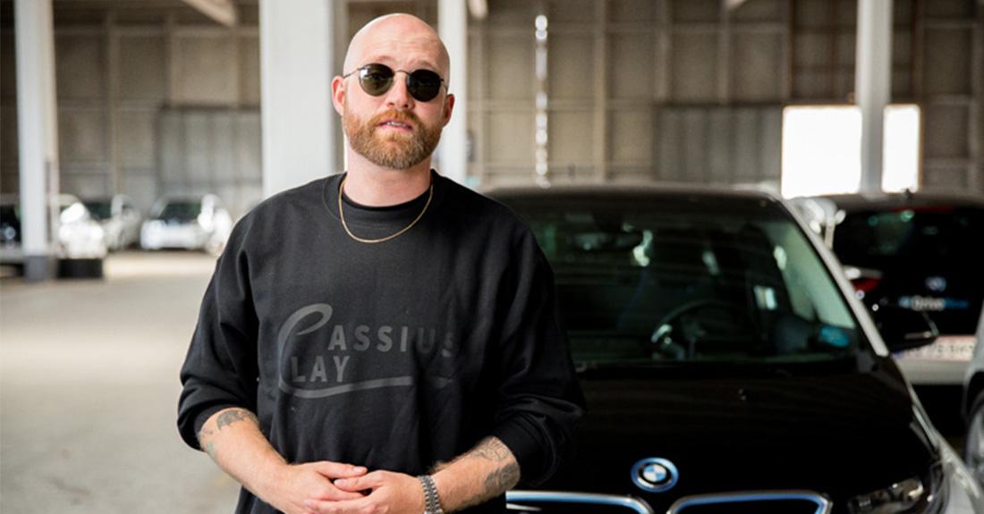 DriveNow præsenterer delebilen BMW i3 på Papirøen