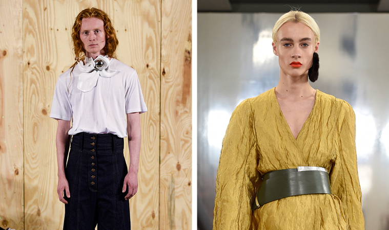Fra Anne Sofie Madsen og Mark Kenly Domino Tans SS16-shows.