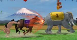 Japansk spil mikser hestesport, sumobrydning og 'Street Fighter' til en bizar cocktail