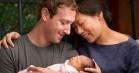 Arvingen til internet-tronen er født: Mark Zuckerberg har fået en baby