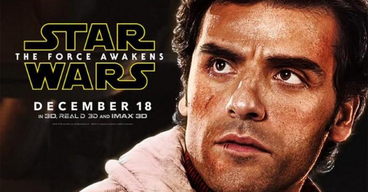 Se heroiske 'Star Wars: The Force Awakens'-karakterplakater med Oscar Isaac og John Boyega