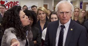 Larry David laver 'Bern Your Enthusiasm' – se den forrygende sketch