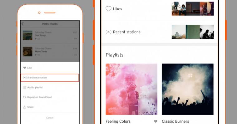 SoundCloud starter radio-service for at markere sig over for streamingtjenesterne