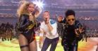 Se Coldplays vilde halvlegsshow med Beyoncé og Bruno Mars