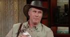 Wildlife-ekspert Will Ferrell fremviser truede husdyr hos Stephen Colbert