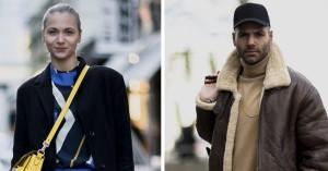 Street style: Farver og pels på modeugens anden dag