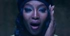 Video: Tårene triller fra Naomi Campbell til Anohnis 'Drone Bomb Me'