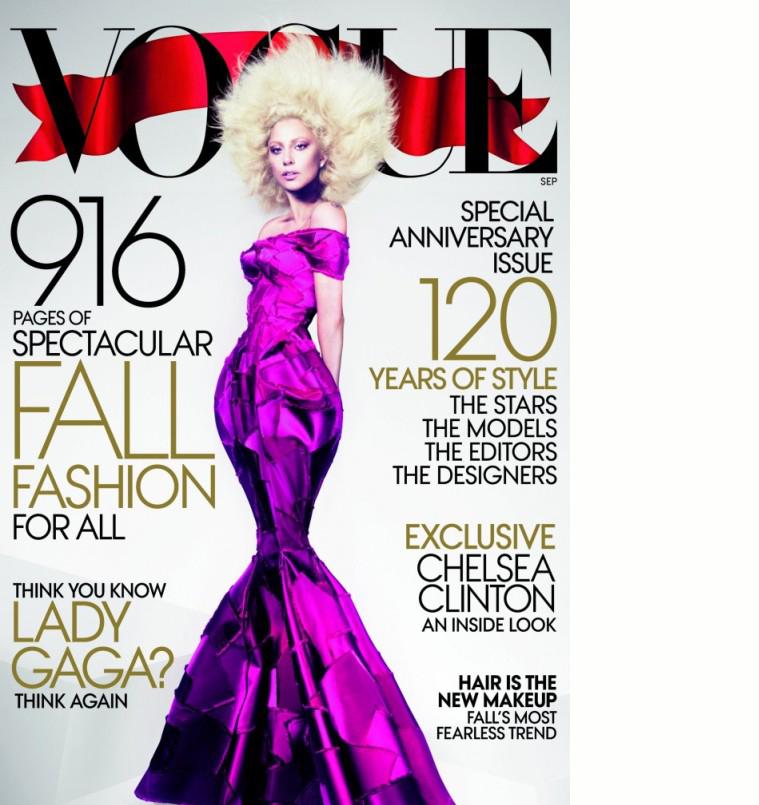 Lady Gagas Vogue-forside