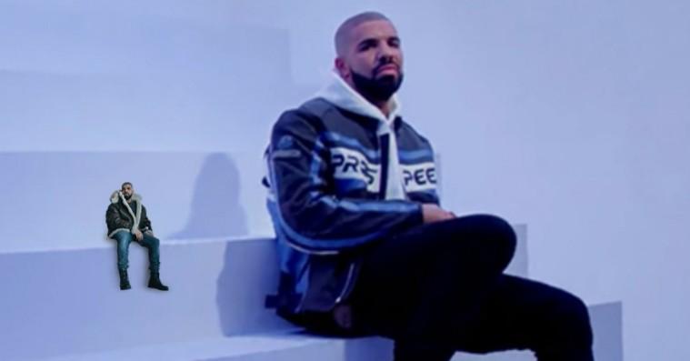 Indsæt mikro-Drake fra 'Views'-albumcoveret overalt med fantastisk fotoværktøj
