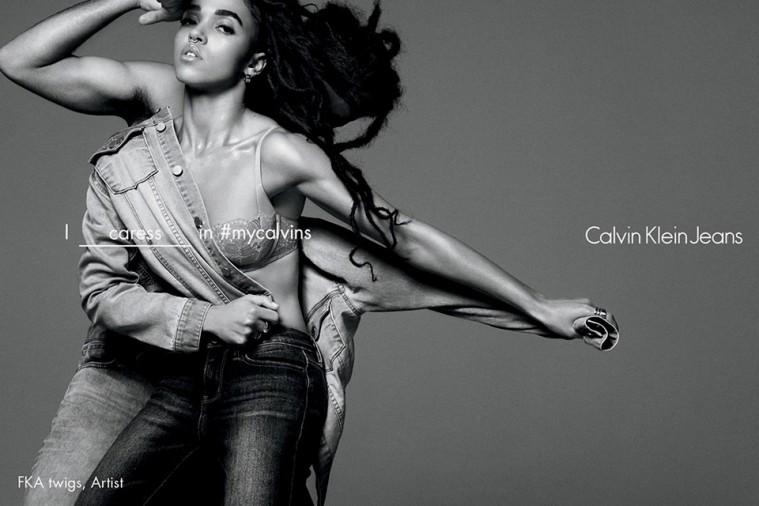FKA Twigs i Calvin Kleins SS16-kampagne