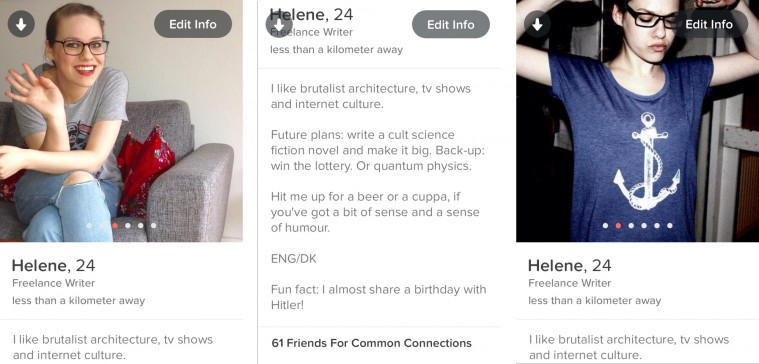profiltekster på datingsider Tårnby
