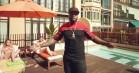 50 Cent genopliver MTV Cribs på et hostel i Barcelona