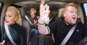 Se James Cordens 'Carpool Karaoke' med Gwen Stefani – inklusiv to ret specielle gæster