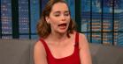 Emilia Clarke synger Hansons 'MMMBop' på Dothraki hos Seth Meyers