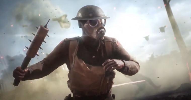 'Battlefield 1'-teaser demonstrerer våben og gameplay på den golde slagmark / Nyhed