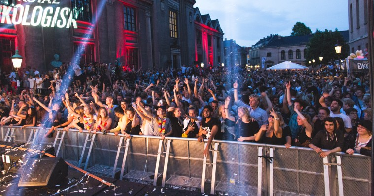 Distortion: Sådan så det ud til gadefesten i Indre By efter kl. 22.00
