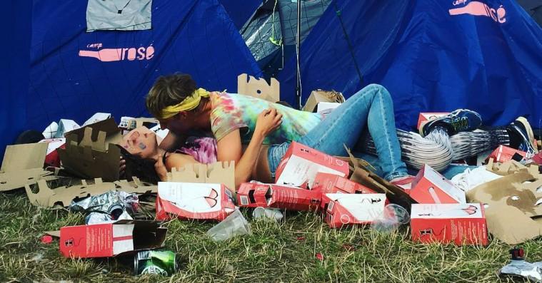 10 øjeblikke fra Instagram , der perfekt indkapsler fem dages Roskilde-kaos