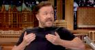 Ricky Gervais laver elendige kendis-parodier hos Jimmy Fallon