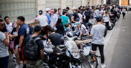Street style: Streetwear-fans indtog Kanyes popup-shop i Paris