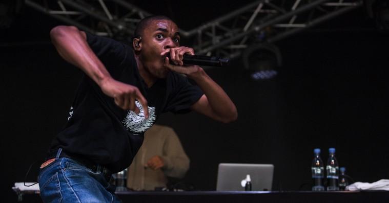 Roskilde Festival: Vince Staples udkrængede koncentreret sin sjæl
