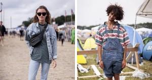 Street style: Denim-kærlighed på Roskilde Festival