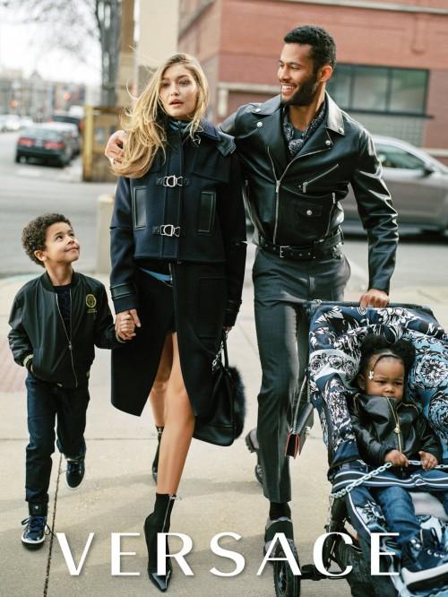 Gigi Hadid i Versaces AW16-kampagne
