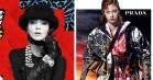 Chanel går old school med collager i mærkets efterårskampagne - Prada følger trop