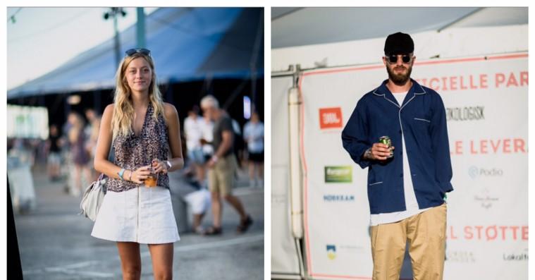 Street style - Musik i Lejet bød på sommer, solbriller og print